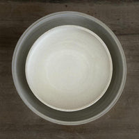 Natural nesting pair of Handmade serving bowls - NotInTheMalls