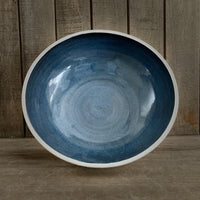 Ocean Blue Handmade Serving Bowl - NotInTheMalls