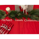 Embroidered Christmas Table Runners - NotInTheMalls
