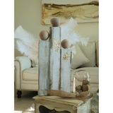 Handmade Wooden Angel Set for Christmas With Feather Wings - NotInTheMalls