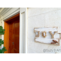 Handmade Christmas Joy Sign - NotInTheMalls