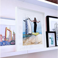 Dubai Personalised Artwork Bubbles - NotInTheMalls