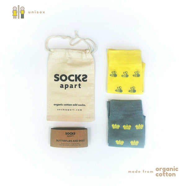 Butterflies And Bees Unisex Socks - NotInTheMalls