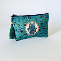 Set of 3 Hamsa Patterned Make-up Bags - NotInTheMalls