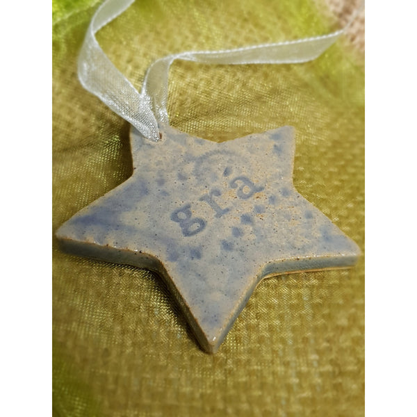 Grá Star - Ceramic Decoration - NotInTheMalls