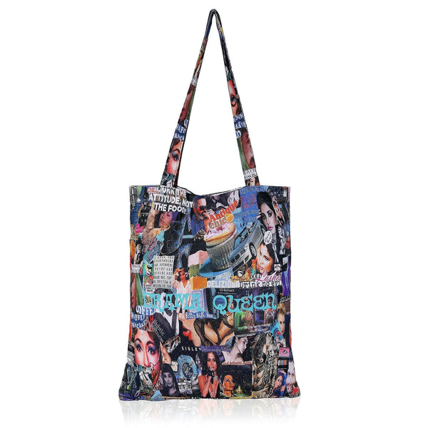 50 Shades of Blue Tote Bag - NotInTheMalls
