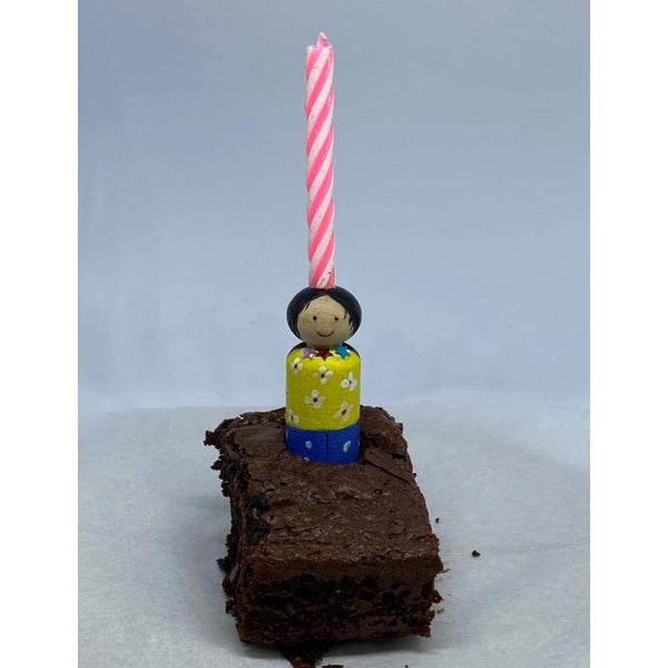 Little peg Birthday cake topper - NotInTheMalls