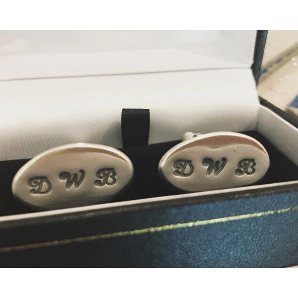 Personalised Cufflinks with initials - NotInTheMalls
