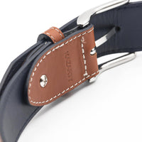 KAZARTT OPTIMISM Men's Leather Belt with glass of wine patterns. Adjustable size - NotInTheMalls