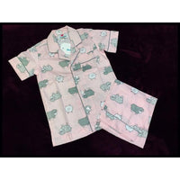 Collared and Button down Pyjamas - Pink Sheep - NotInTheMalls