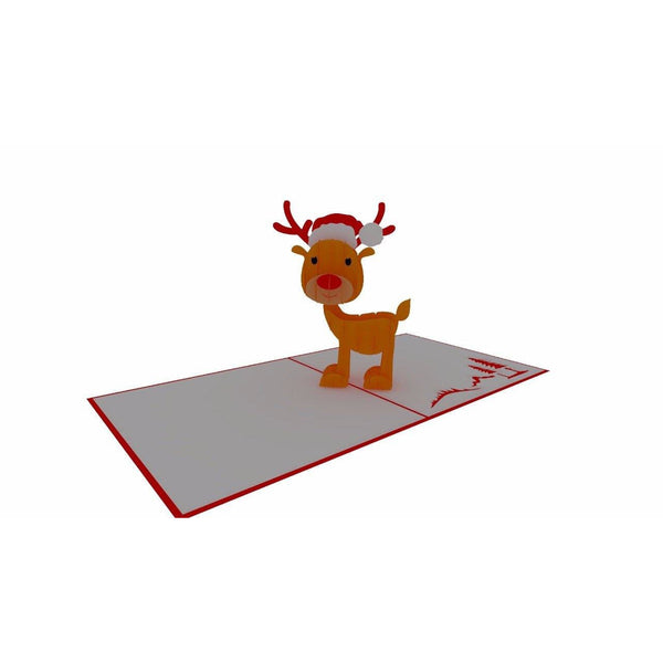 Reindeer Pop Up Card - NotInTheMalls