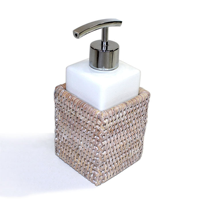 Square Bath Canister