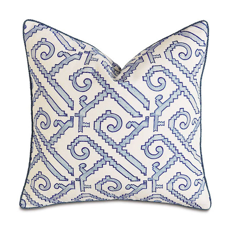 Indigo Dec Pillow - Home Basics Panamá