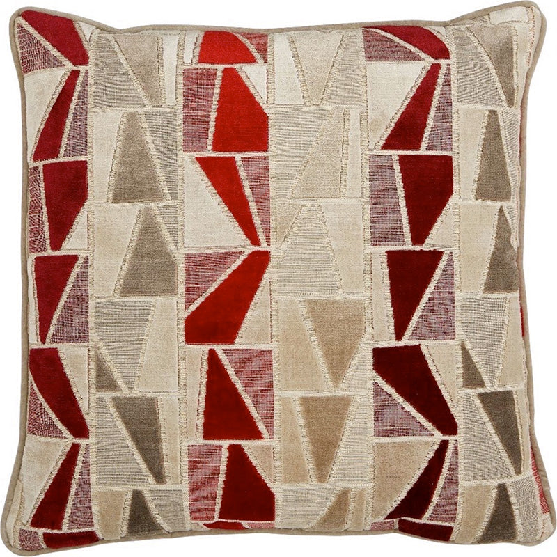Manhattan Ruby Pillow - Home Basics Panamá