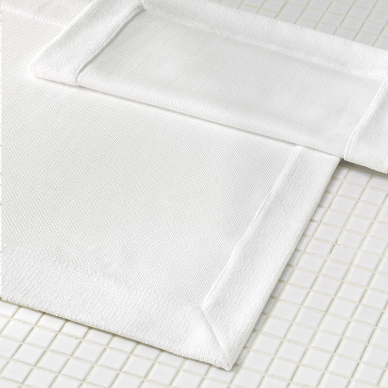 Lotus White Tub Mat