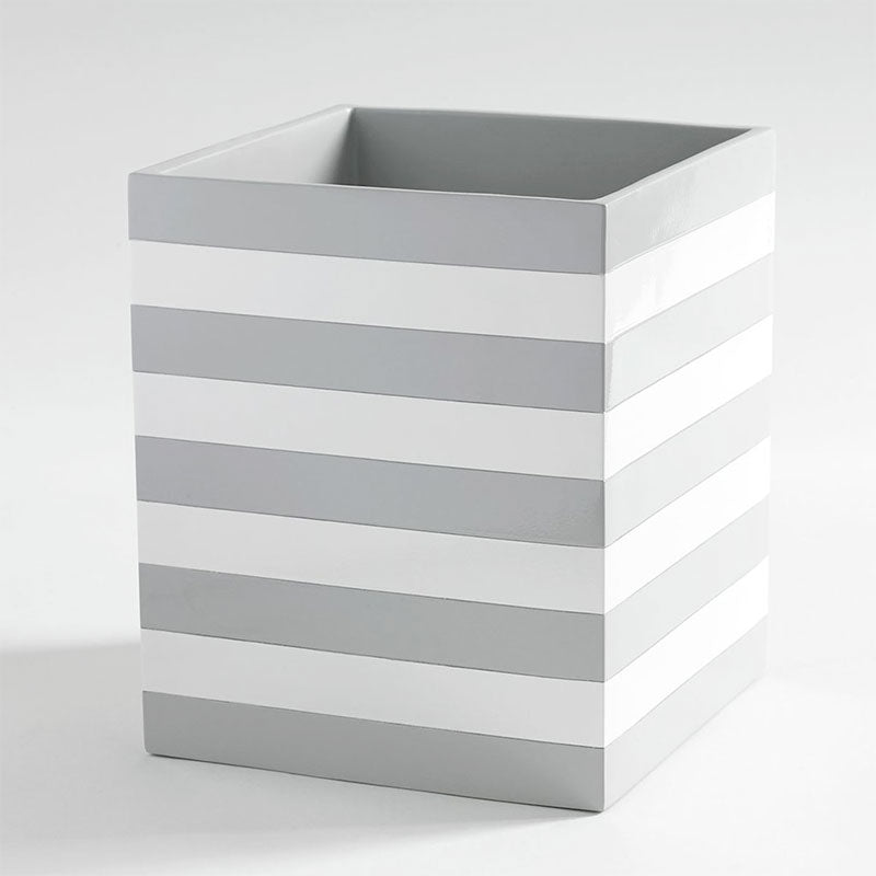 Cabana White Waste Basket