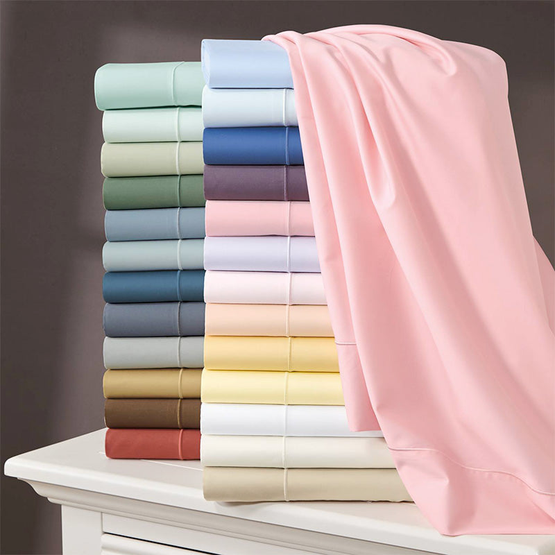 Sateen Fitted Sheet - Home Basics Panamá