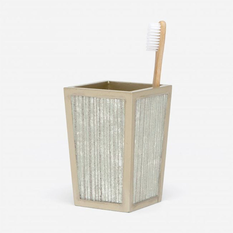 Waterford Gray Toothbrush Hold - Home Basics Panamá