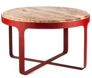 COFFEE TABLE - RED STONE