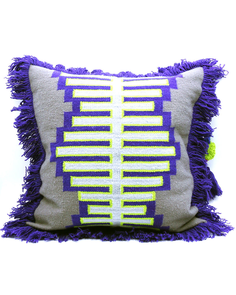 CUSHION COVER - DNA - GREY