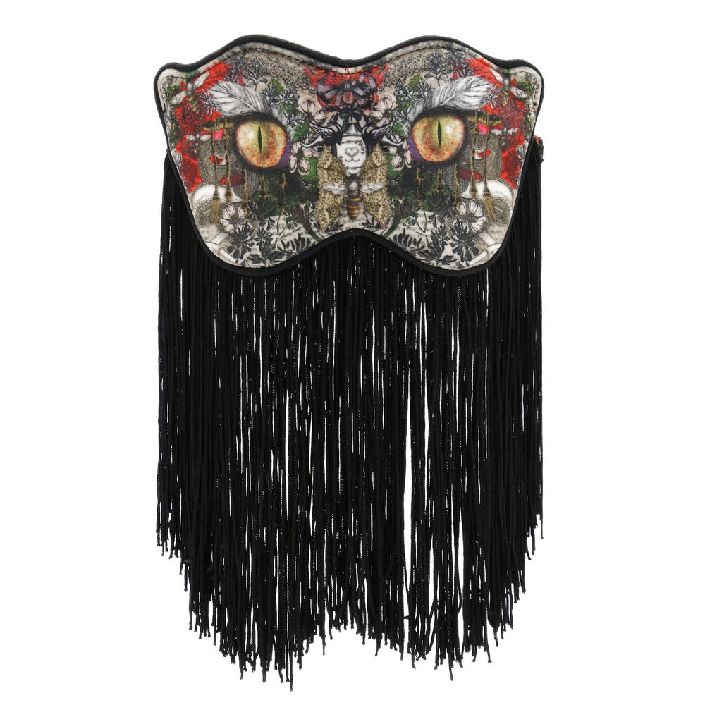 Load image into Gallery viewer, EYE MASK - FRINGED DREAM