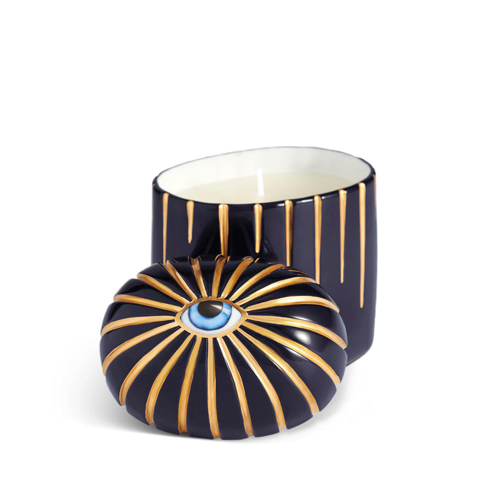 CANDLE - LITO CANDLE - BLUE&GOLD