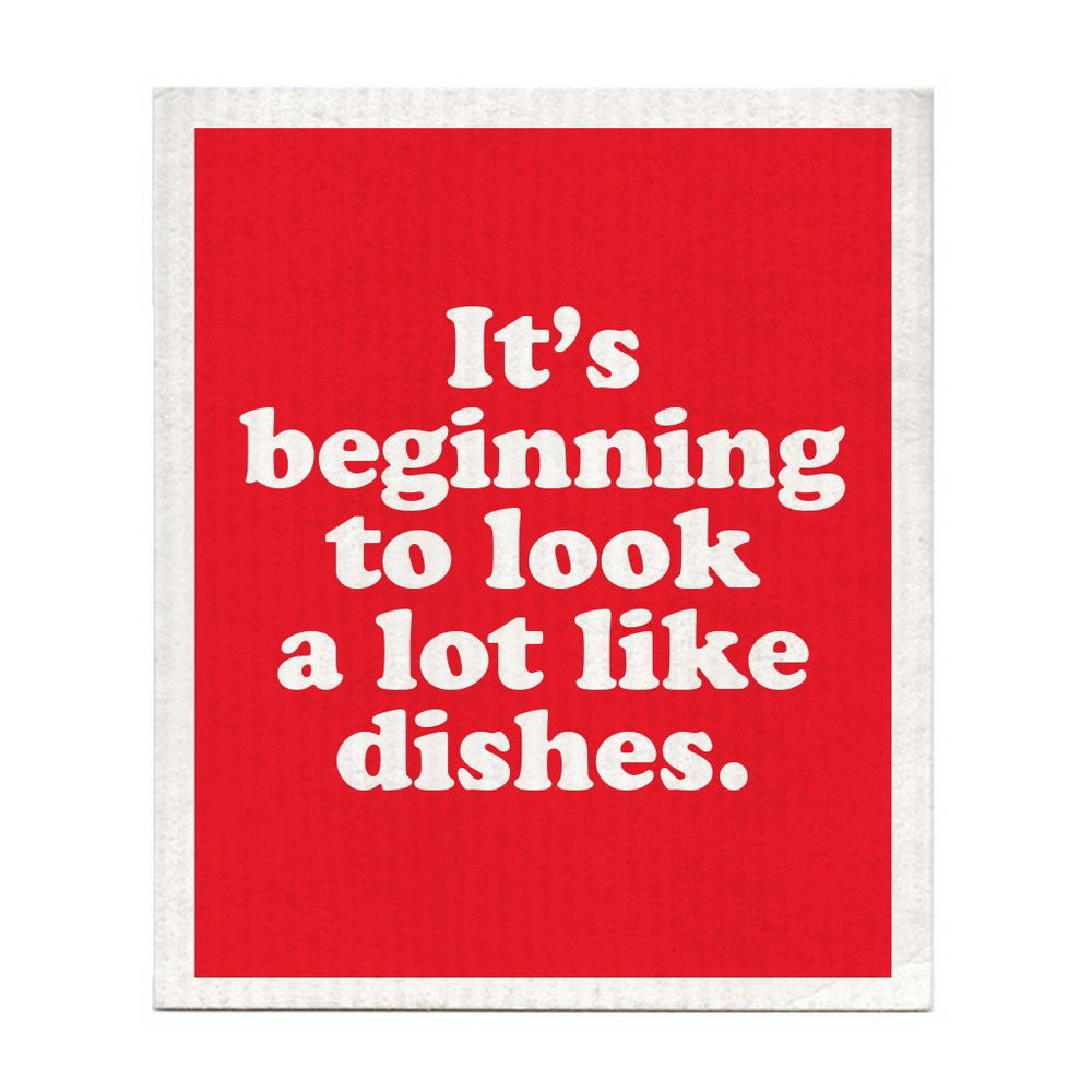 DISHCLOTH - IT'S BEGINNING TO LOOK A LOT LIKE DISHES