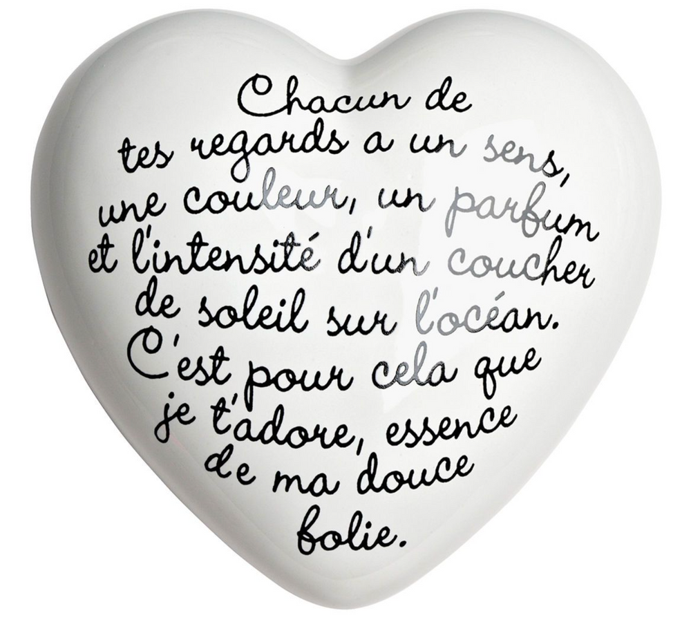 CUORE/HEART - POESIE FRENCH