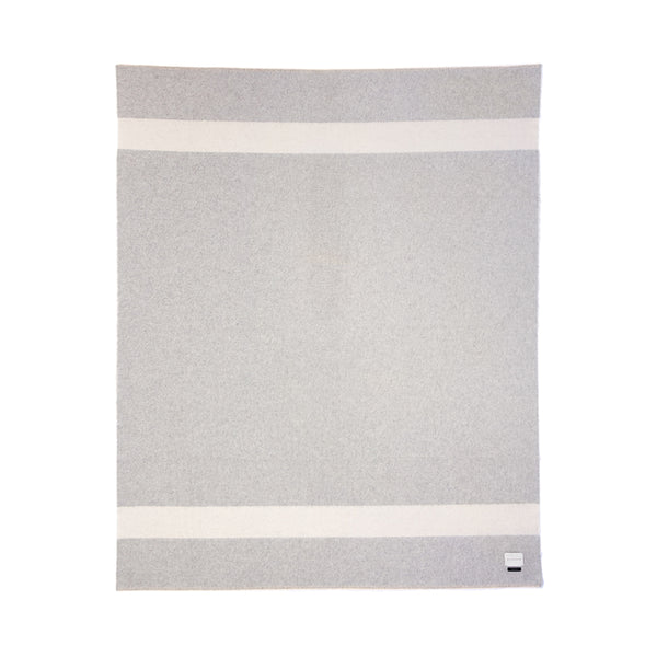 BLANKET - THE SIEMPRE RECYCLED - LIGHT HEATHER