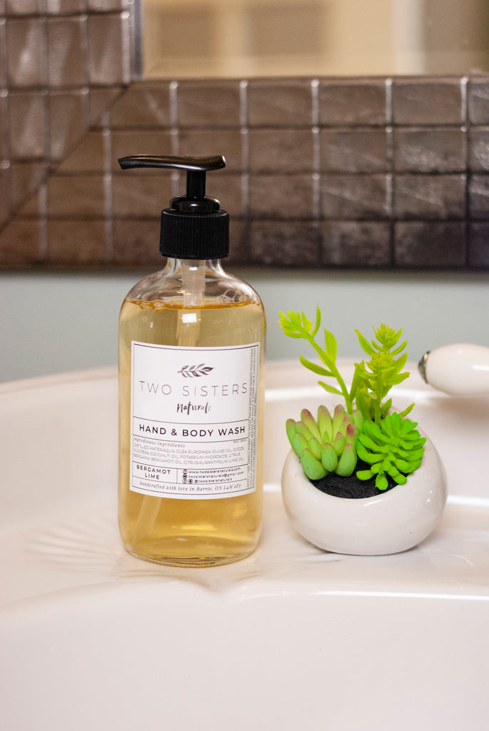 Hand & Body Wash - Bergamot Lime