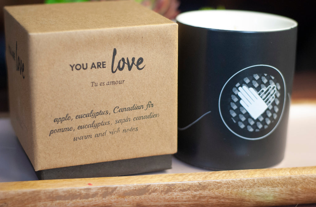 You Are Love Candle | Vanilla Bean, Eucalyptus & White Musk