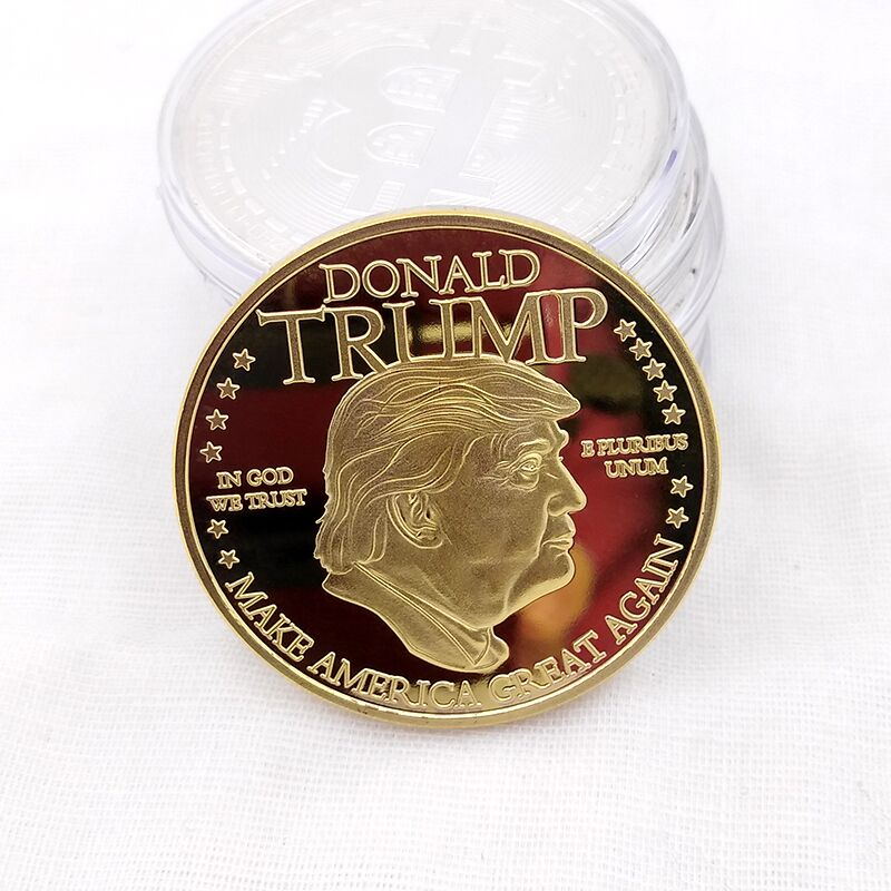 Donald Trump Presidential Collector Coin