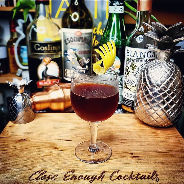 SIx & Out Cocktail Recipe - Toronto and Hanky Panky's wayward lovechild
