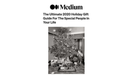 Medium Holiday 2020 Gift Guide