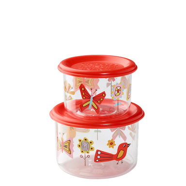 Good Lunch Snack Containers | Birds & Butterflies | Small