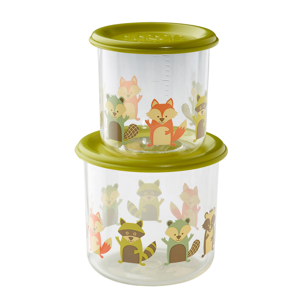 Good Lunch Snack Containers | What did the Fox Eat? | Large
