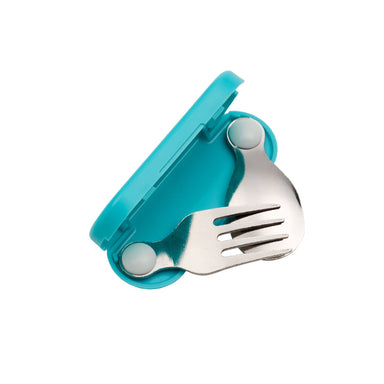 Folding Utensil Set | Aqua Dot