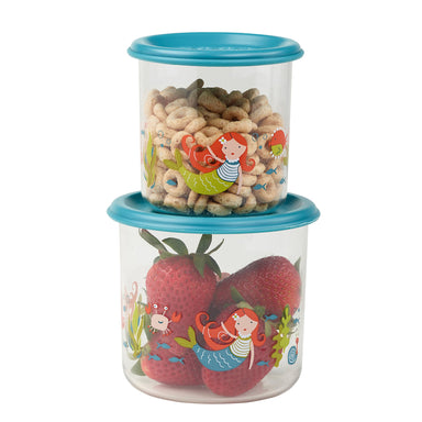 Good Lunch Snack Containers | Isla the Mermaid | Large