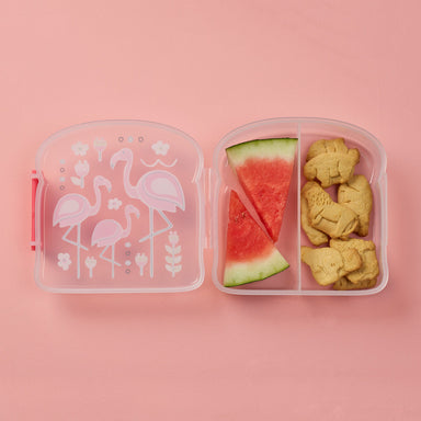 Good Lunch Sandwich Box | Flamingo