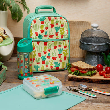 Zippee Lunch Tote | Happy Cactus