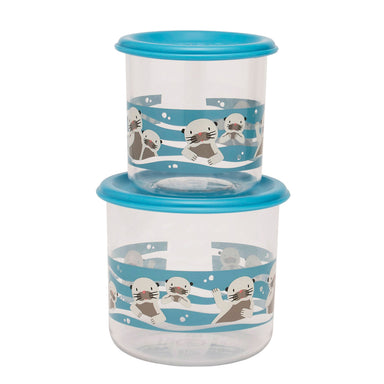 Good Lunch Snack Containers | Baby Otter | Large