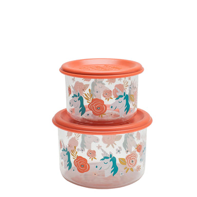 Good Lunch Snack Containers | Unicorn | Small