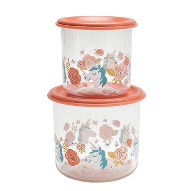 Good Lunch Snack Containers | Unicorn | Large