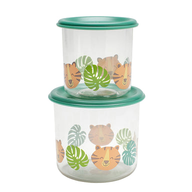Good Lunch Snack Containers |  Tiger | Large