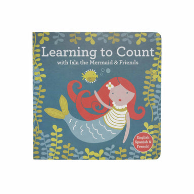 Sugarbooger Board Book | Learning to Count with Isla the Mermaid