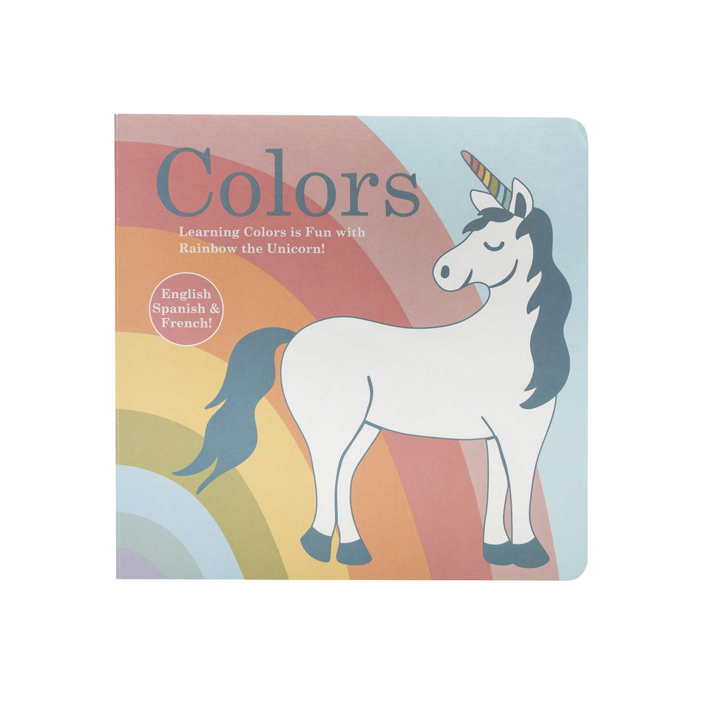 Sugarbooger Board Book | Book of Color Unicorn