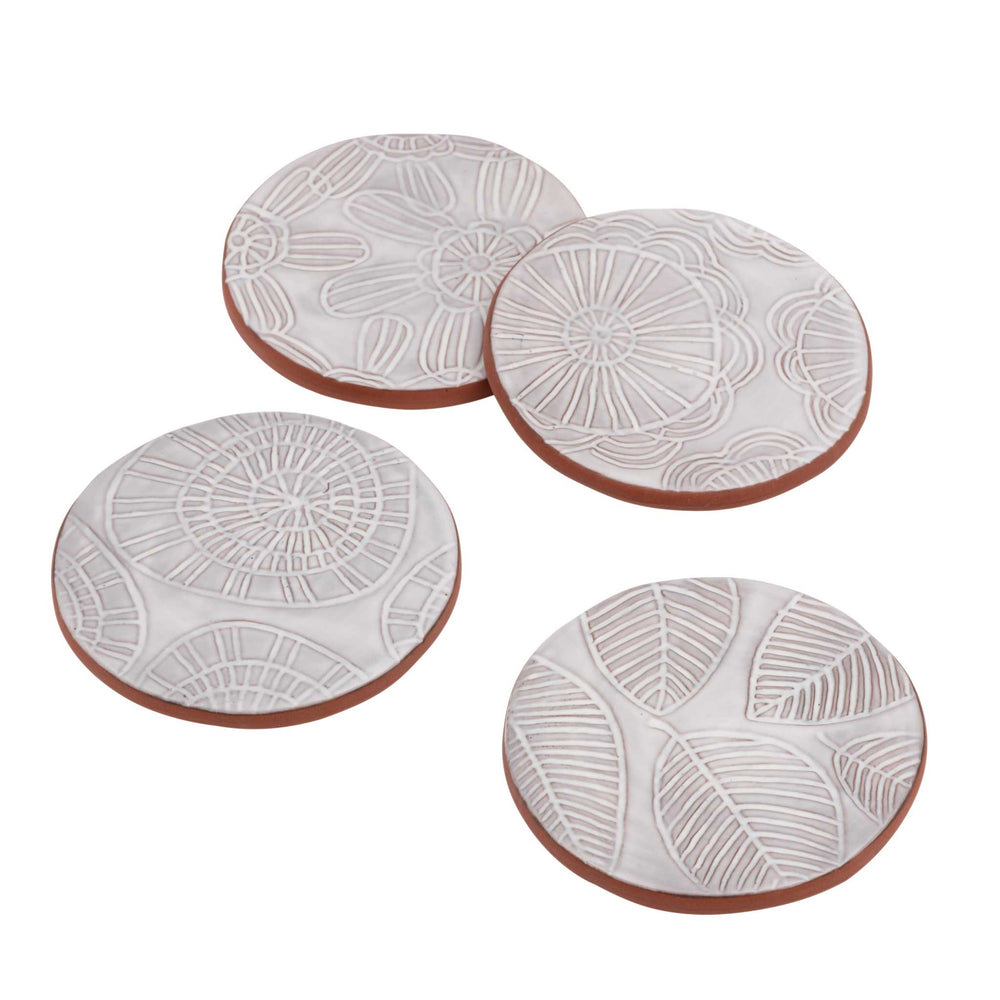 Coaster Set-of-Four | Handcraft