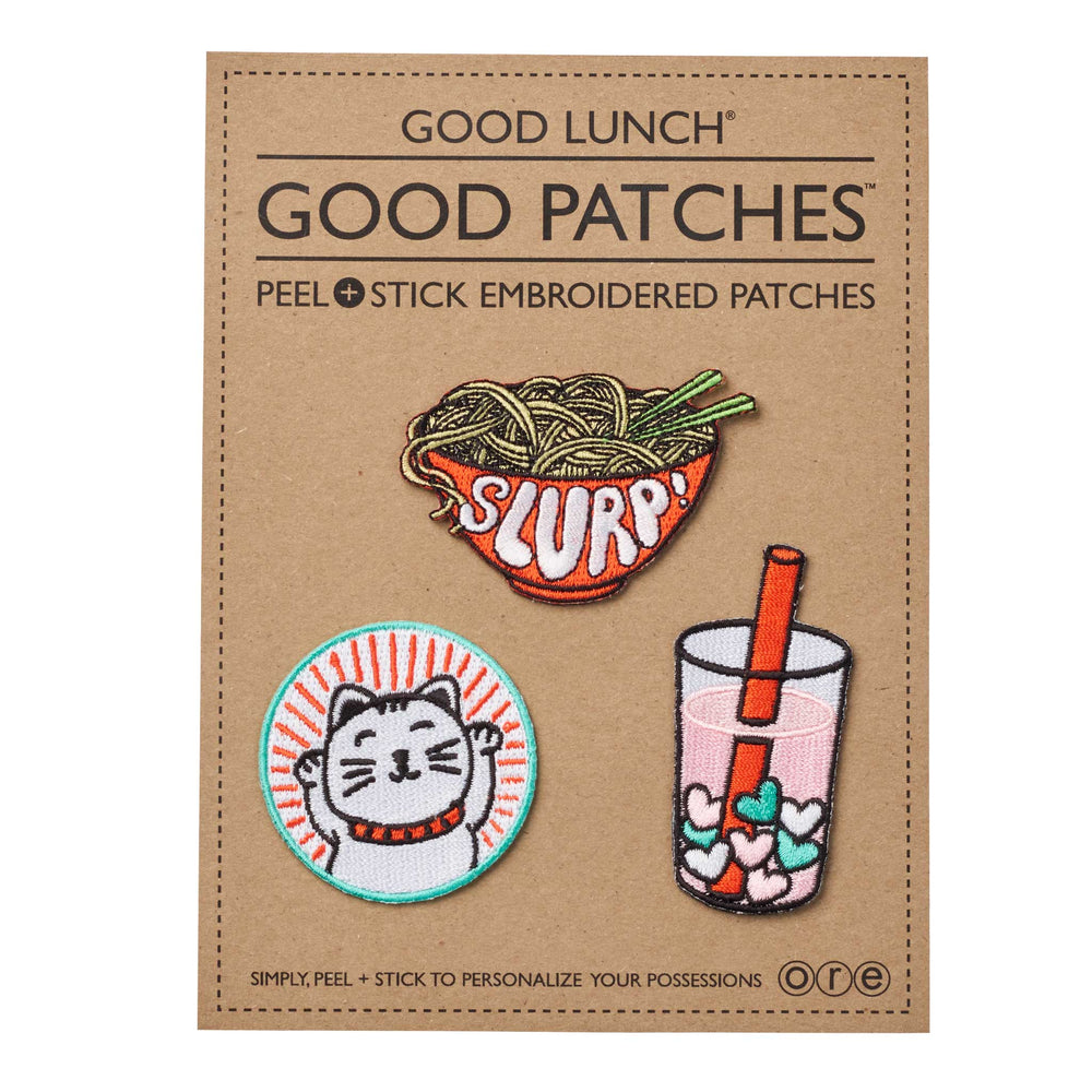 Good Lunch Good Patches | Slurp