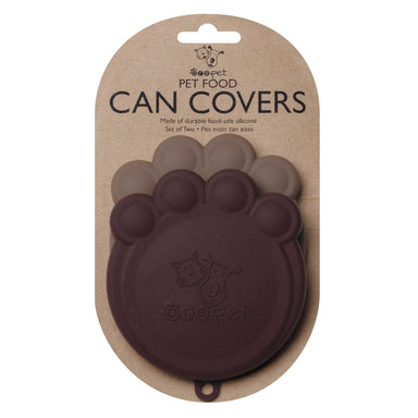 Can Cover Set | Brown & Light Brown