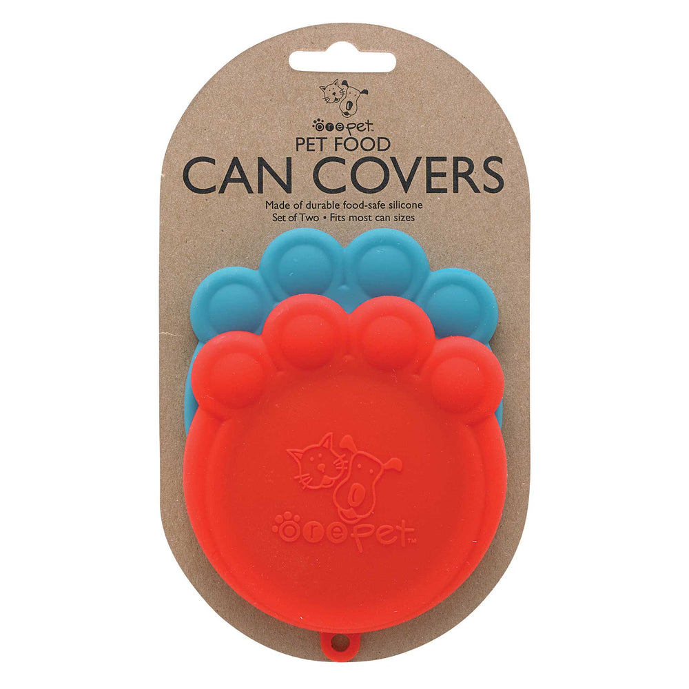 Can Cover Set | Red & Blue